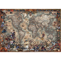 thumb-Pirates Map -  jigsaw puzzle of 2000 pieces-1