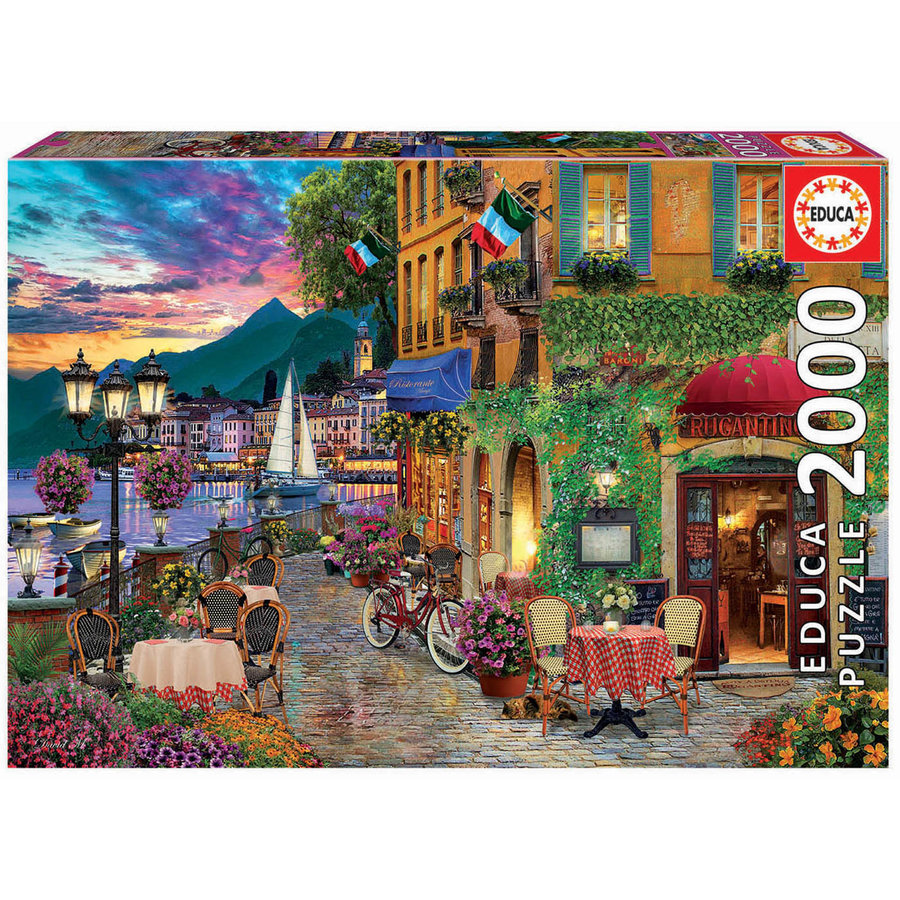 Charme Italien - puzzle de 2000 pièces-2