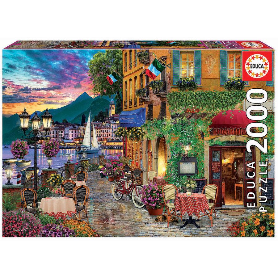 Italiaanse charme  - puzzel van 2000 stukjes-2