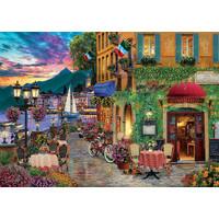 thumb-Italiaanse charme  - puzzel van 2000 stukjes-1