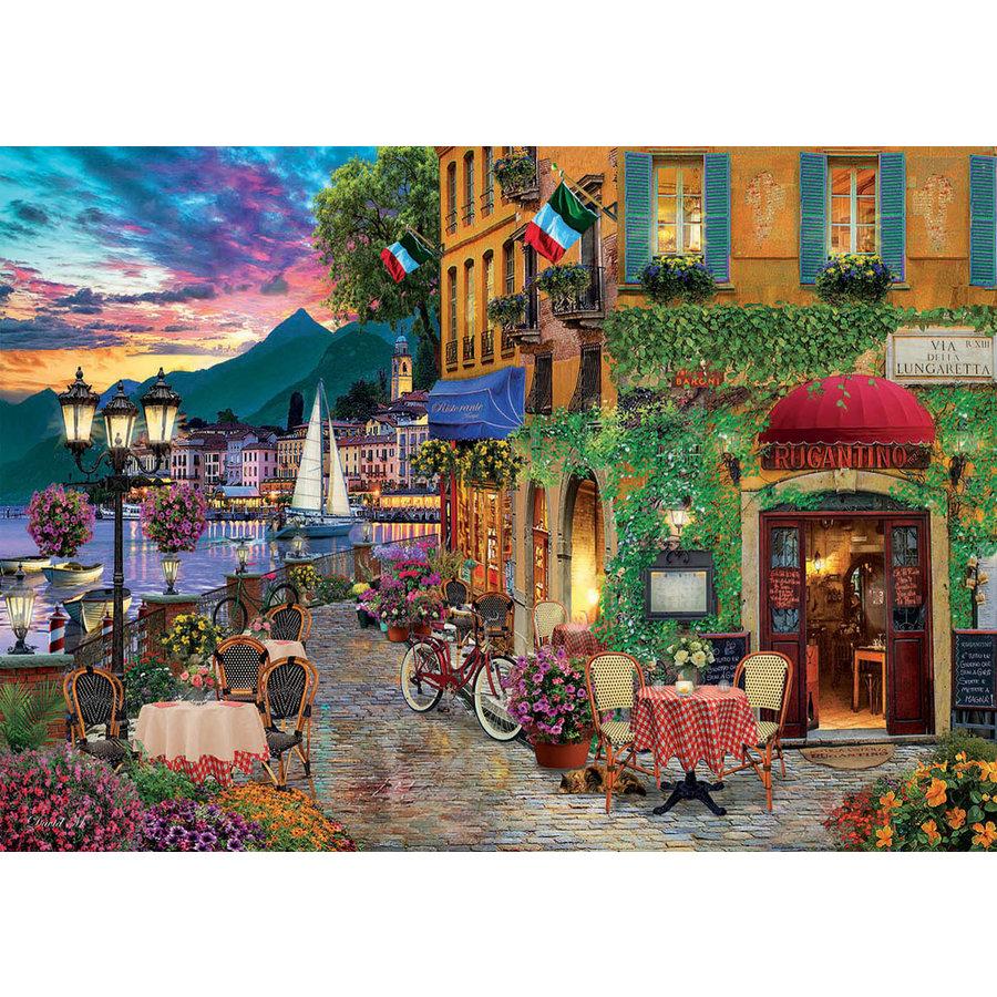Italiaanse charme  - puzzel van 2000 stukjes-1