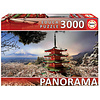 Educa Mount Fuji and Chureito Pagoda in Japan - jigsaw puzzle of 3000 pieces