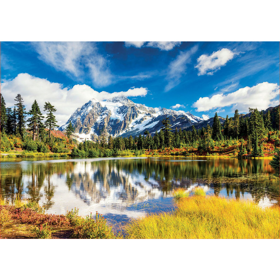 Mount Shuksan in Washington - jigsaw puzzle of 3000 pieces-1