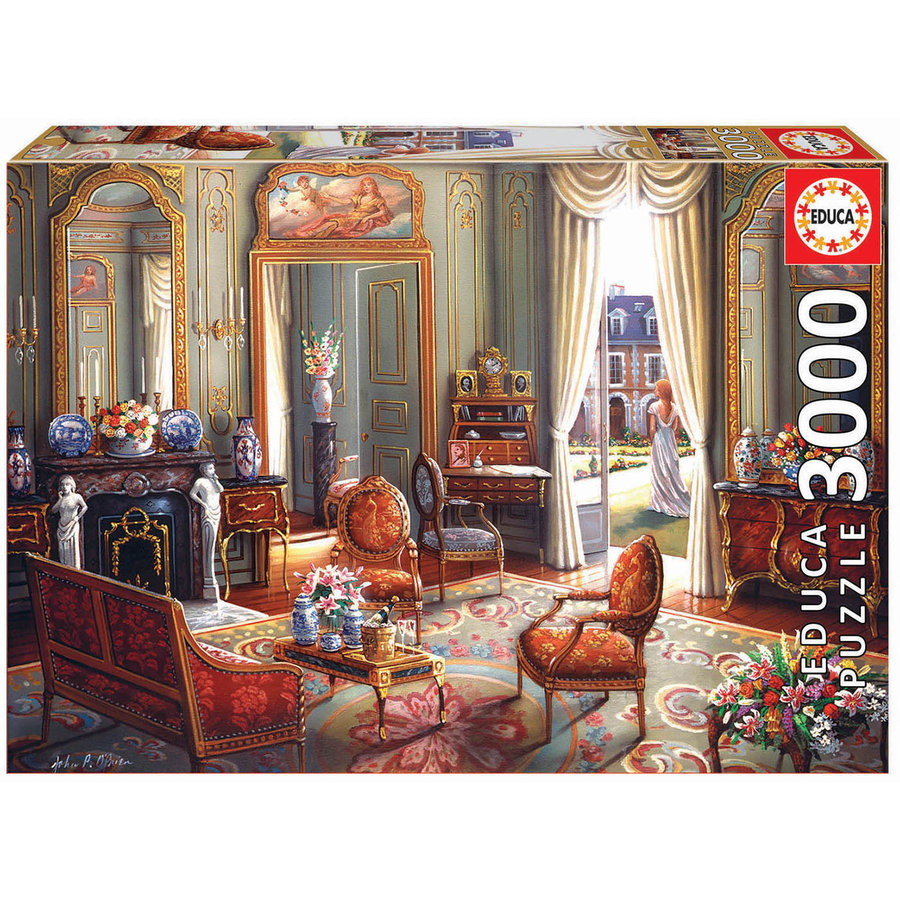 A moment alone - jigsaw puzzle of 3000 pieces-2