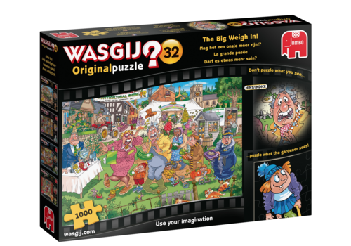 PRE-ORDER: Wasgij Original 32 - The Big Weigh in! - 1000 pieces