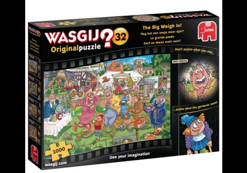 Jumbo Wasgij Original 32 - The Big Weigh in! - 1000 pieces