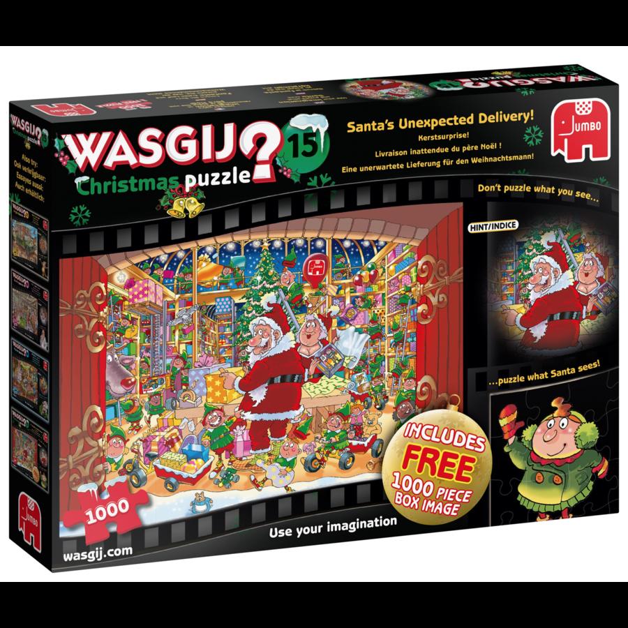 Wasgij Christmas 15 - Kerstsurprise - 2 puzzels van 1000 stukjes-1