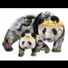 SUNSOUT Panda-monium -  jigsaw puzzle of 1000 pieces