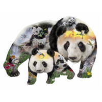 Panda-monium -  jigsaw puzzle of 1000 pieces