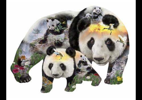 Panda-monium - 1000 stukjes