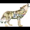 SUNSOUT Meadow Wolf - legpuzzel van 750 stukjes