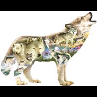 Meadow Wolf - legpuzzel van 750 stukjes