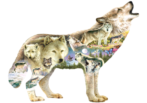 Meadow Wolf - 750 pieces