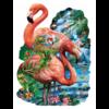 SUNSOUT Flamingo vijver - legpuzzel van 1000 stukjes
