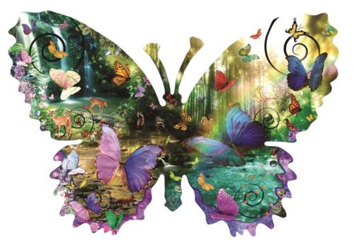 Papillon de forêt - 1000 pièces