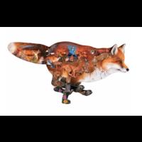 thumb-Sluwe vos - legpuzzel van 1000 stukjes-1
