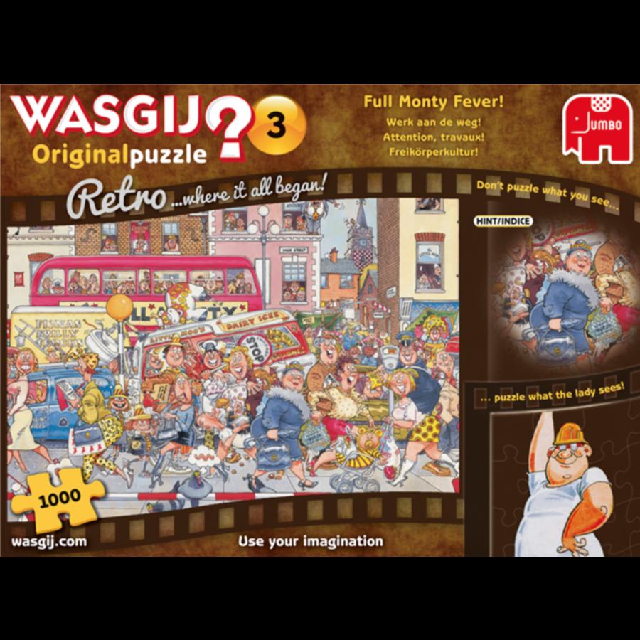 Wasgij Original 3 Retro - Werk aan de weg! - 1000 stukjes-3