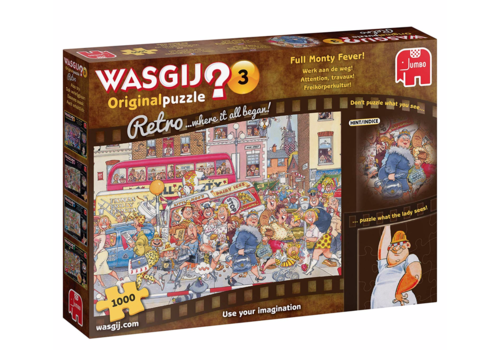 Wasgij Original 3 Retro - 1000 pieces