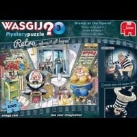 thumb-Wasgij Mystery 3 Retro - Drama at the Opera! - 1000 pieces-1