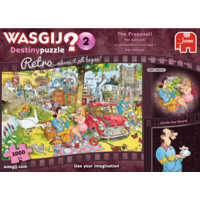 thumb-Wasgij Destiny 2 Retro - The Proposal! - puzzle of 1000 pieces-2