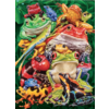 Cobble Hill Frog Business  - puzzle of 1000 pieces
