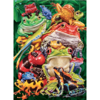 Frog Business  - puzzle of 1000 pieces