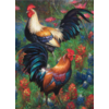 Cobble Hill Roosters  - puzzle of 1000 pieces