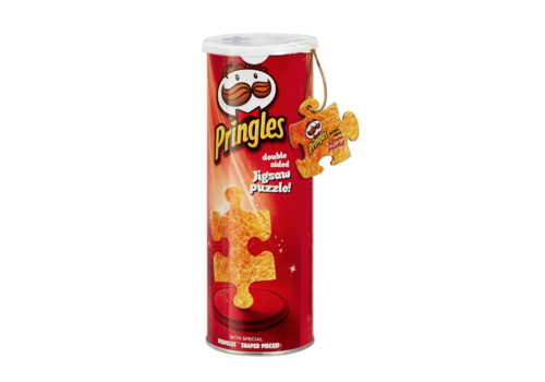 Pringles Puzzle in a Can - double sided puzzle- puzzle 250 pieces