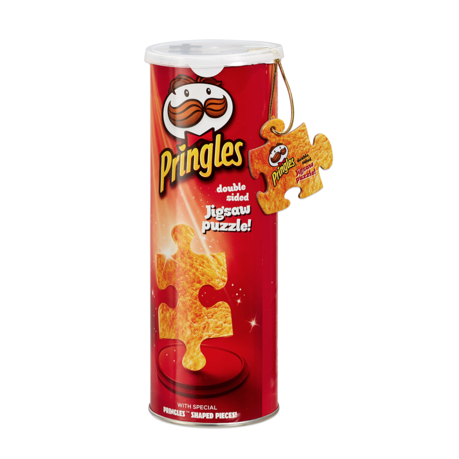 Pringles Puzzle in a Can - double sided puzzle- puzzle 250 pieces-1