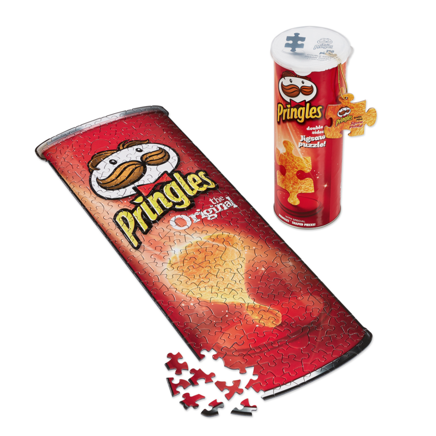 Pringles Puzzle in a Can - double sided puzzle- puzzle 250 pieces-2