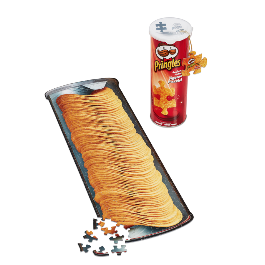 Pringles Puzzle in a Can - double sided puzzle- puzzle 250 pieces-3