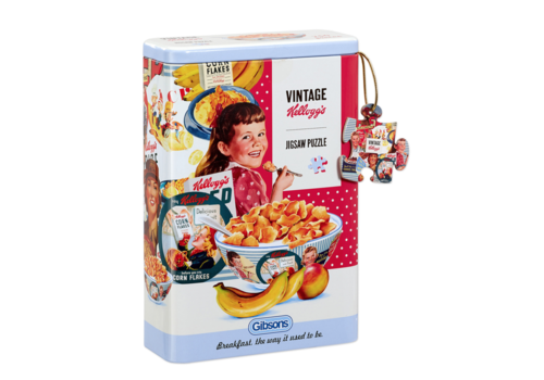 Vintage Kellogg's Cornflakes - 250 stukjes