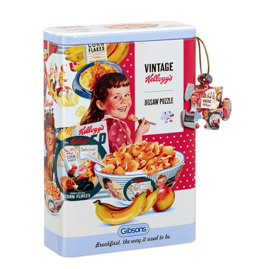 Vintage Kellogg's Cornflakes - puzzle 250 pieces-1
