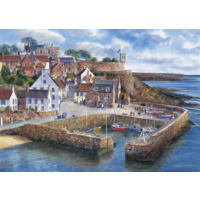 Crail Harbour  - jigsaw puzzle of 1000 pieces