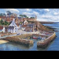 Haven in Schotland - puzzel van 1000 stukjes