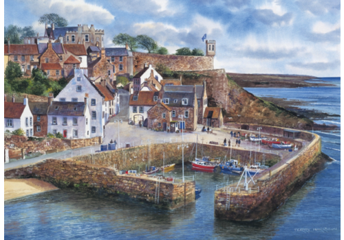 Gibsons Crail Harbour - 1000 pieces