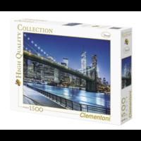 thumb-New York by night - puzzel 1500 stukjes-2