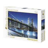 thumb-New York by night - puzzle of 1500 pieces-2
