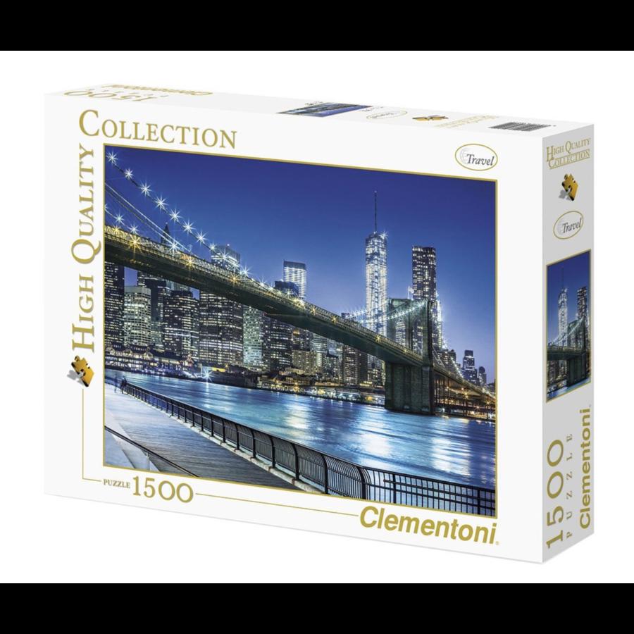 New York by night - puzzel 1500 stukjes-2