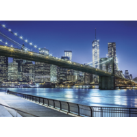 thumb-New York by night - puzzle of 1500 pieces-1