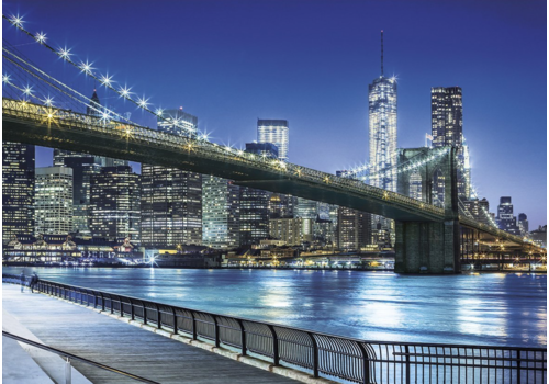 New York by night - puzzel 1500 stukjes