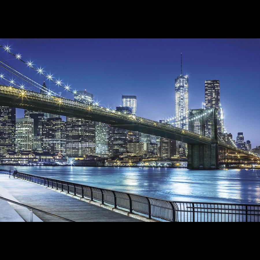 New York by night - puzzel 1500 stukjes-1