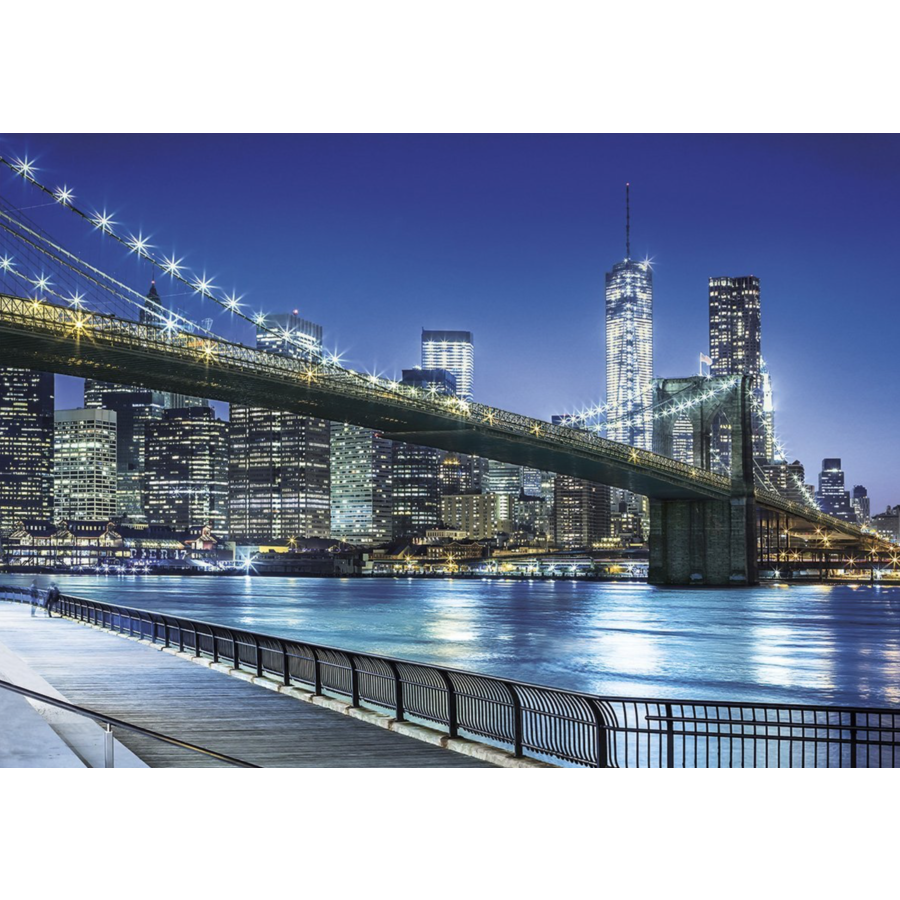 New York by night - puzzle of 1500 pieces-1