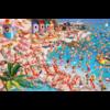 Piatnik Het strand - Comic - puzzel van 1000 stukjes