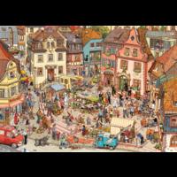 thumb-De grote markt - puzzel van 1000 stukjes-2