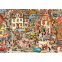 thumb-Market Place - puzzle of 1000 pieces-2