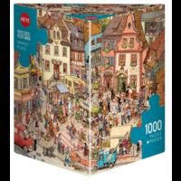 thumb-De grote markt - puzzel van 1000 stukjes-1