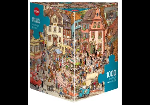 Place du marché - 1000 pièces