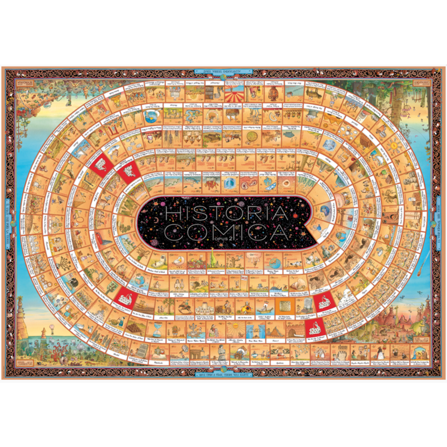 Historia Comica 2  - puzzle of 4000 pieces-2