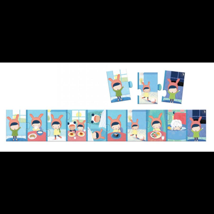 De dag - puzzel van 10 stukjes-2